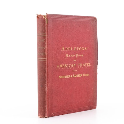 "1874 ""Appletons' Hand-Book of American Travel, Northern & Eastern Tours"""
