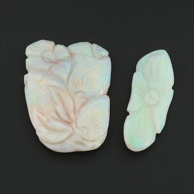 Loose 39.00 CTW Opal Gemstones