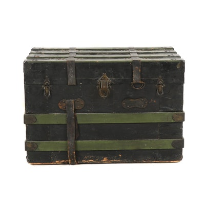 Steamer Trunk, Late 19th, Early 20th Century