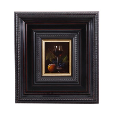 Ronald Berger Still Life Oil Painting