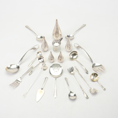 """Sterling Tableware Including International """"Enchantress"""", Lunt and More"""