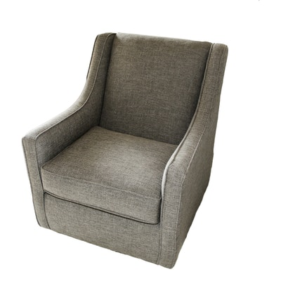 Chairs America Upholstered Swivel  Arm Chair