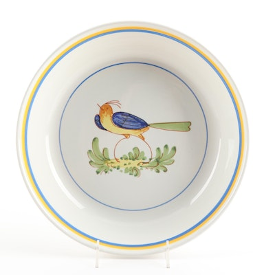 Hand-Painted Italian Bowl by Stoviglieria
