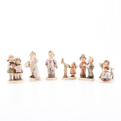 "Goebel ""Little Pharmacist"" and Other Porcelain Hummel Figurines"