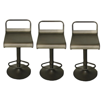 Modern Metal Barstools, Contemporary