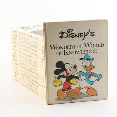 """Disney's Wonderful World of Knowledge"" Reference 16 Volume Set"