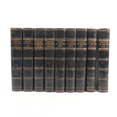 """Cassell's Illustrated History of England"" Volumes 1-9"