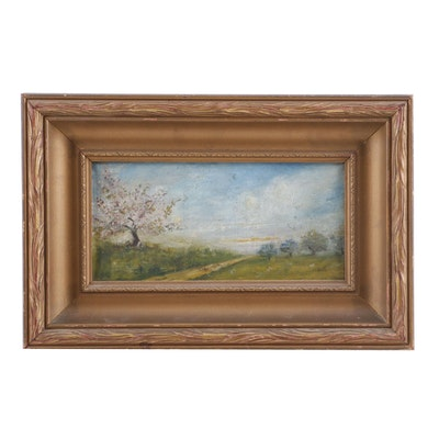 19th Century Landscape Oil Painting