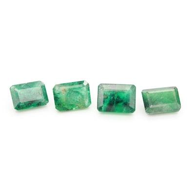 Loose 6.18 CTW Emerald Gemstones