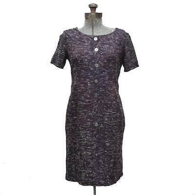 Rayon Day Dress, 1950s Vintage
