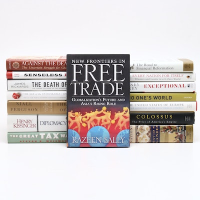 "International Affairs Books with ""The Ascent of Money"" and More"