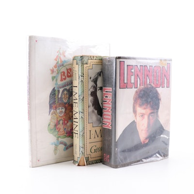 """""""I, Me, Mine"""" by George Harrison and Other Beatles Related Books"""