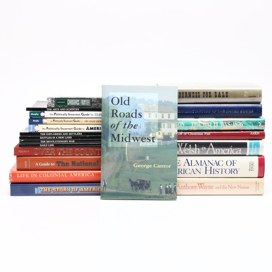 """American History Books with """"Life in Colonial America"""" and More"""