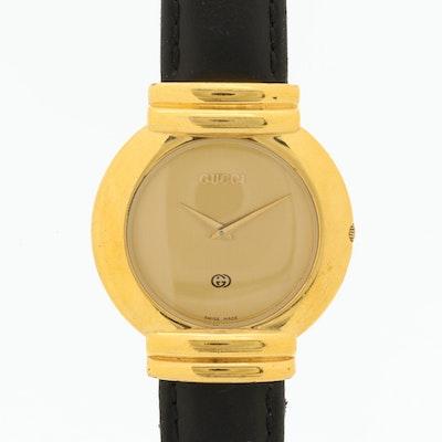Gucci 5300M Gold Tone Quartz Wristwatch