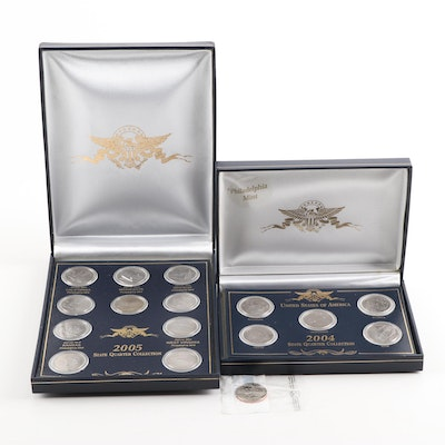 2004 and 2005 United States State Quarter Collections