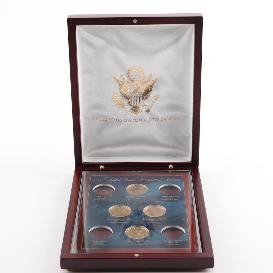 United States Commemorative Gallery 2007 U.S. Presidential Dollars