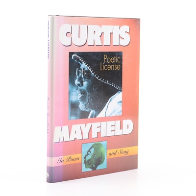 "Curtis Mayfield and David Soto Signed ""Poetic License: In Poem and Song"""