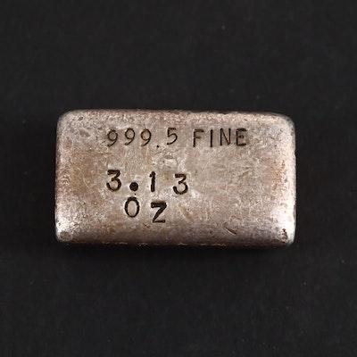 .999  Fine Silver Bar