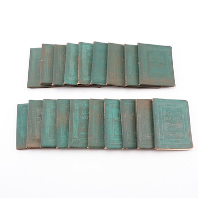 """""""Little Leather Classics"""" Books, with Sherlock Holmes, Lincoln Speeches and More"""