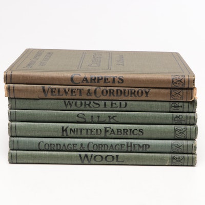 "Vintage Series ""Pitman's Common Commodities and Industries"" Seven Volumes"