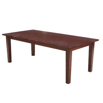 Large Mahogany Dining Table By Pier 1 Imports
