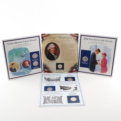 Commemorative Coins including Barber and Kennedy Half Dollars
