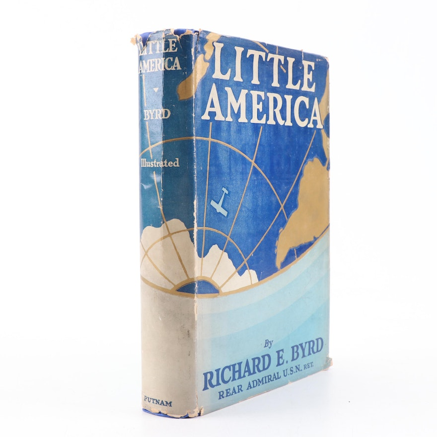 """1930 """"Little America"""" Antarctic Exploration Book by Admiral Richard Byrd"""