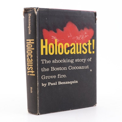 "1959 ""Holocaust!"" Boston Cocoanut Grove Fire Book by Benzaquin"