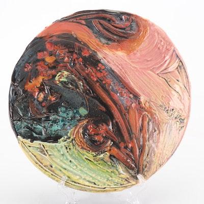Susanne Stephenson Sculptural Stoneware Platter