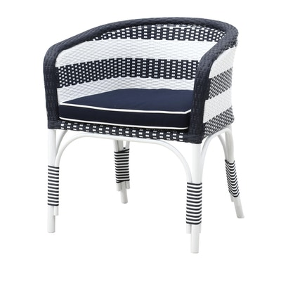 Synthetic Woven Arm Chair by Outlook International