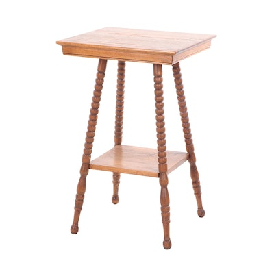 Late Victorian / Colonial Revival Side Table, Circa 1910