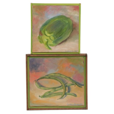 Barbara Burbank Still Life Oil Paintings