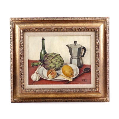 Daniel Girard Still Life Oil Painting