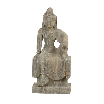 Chinese Outdoor Stone Statue