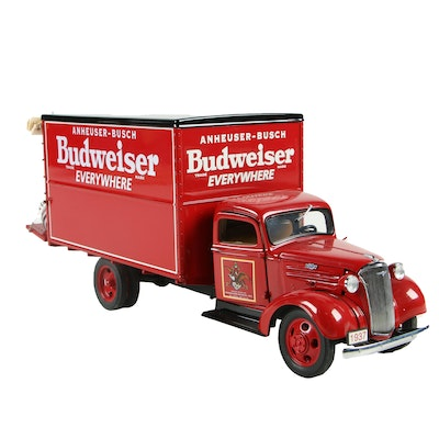 The Danbury Mint 1937 Ford Budweiser Delivery Truck
