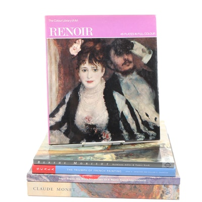 French Impressionist Art Exhibition Catalogues and Books