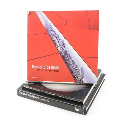 "Art Books with ""Daniel Libeskind"", ""Outdoor Sculpture"" and ""Design with Nature"""