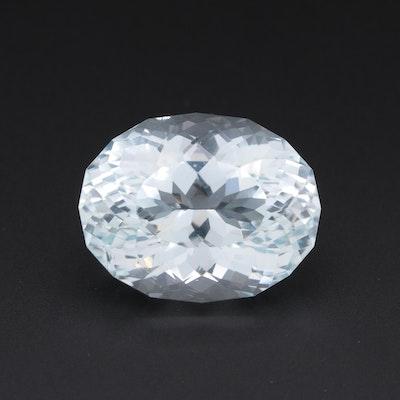 Loose 49.14 CT Aquamarine Gemstone