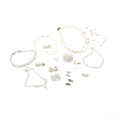Vintage Costume Jewelry Featuring Weiss, Coro, Vendôme, and More