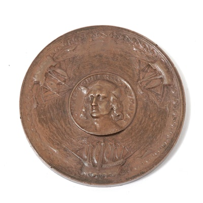 1892-93 World's Columbian Exposition Commemorative Bronze Medal