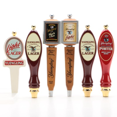 Yuengling Brewing Company Assorted Beer Tap Handles, Contemporary