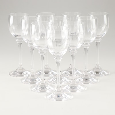 Contemporary Crystal Wine Glasses