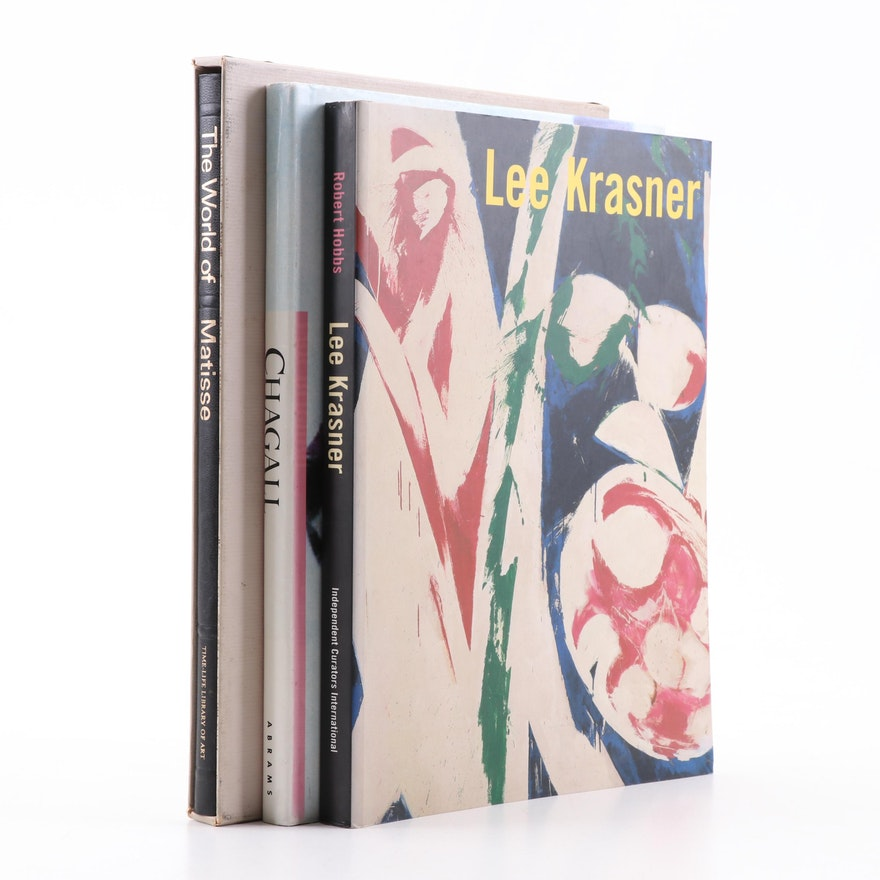 Matisse, Chagall, and Lee Krasner Art Books