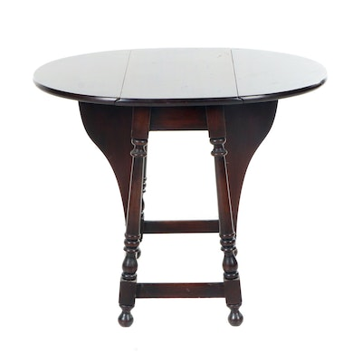 William and Mary Style Mahogany Butterfly Table, Early to Mid 20th Century