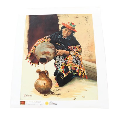 "Giclée after Bob Erwin ""Bolivia"""