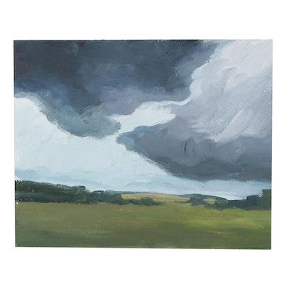 DeSanto Landscape Oil Painting