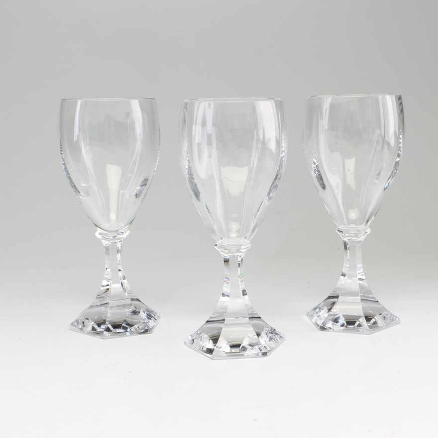 St. Louis Crystal Goblets