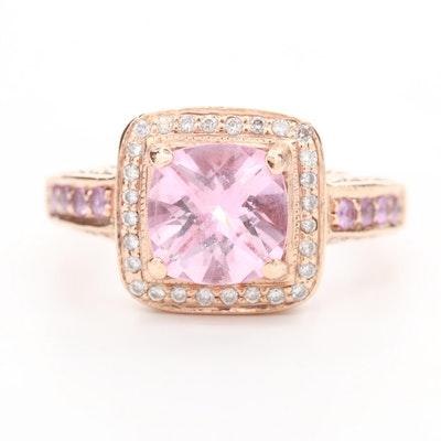 Le Vian 14K Rose Gold Topaz, Sapphire and Diamond Ring