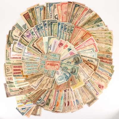 168 Foreign Currency Notes