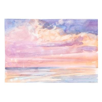 Valentin Ukrainets Landscape Watercolor Painting
